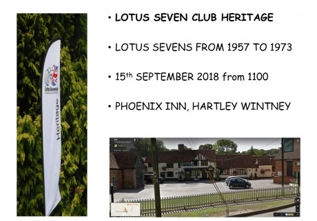Lotus Seven meeting Phoenix
